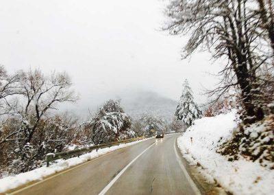 Schnee-in-Bosnien