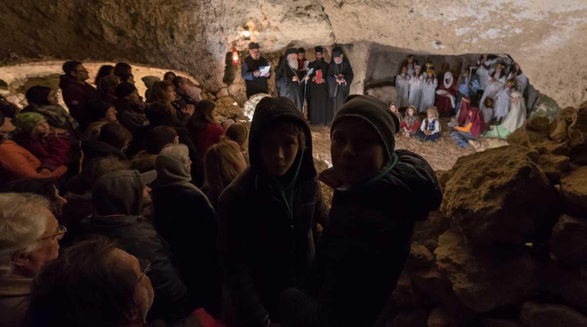 In der Agia Spyliotissa Cave Church in Mitata, Kythera. (Foto Ulrich Weinert)