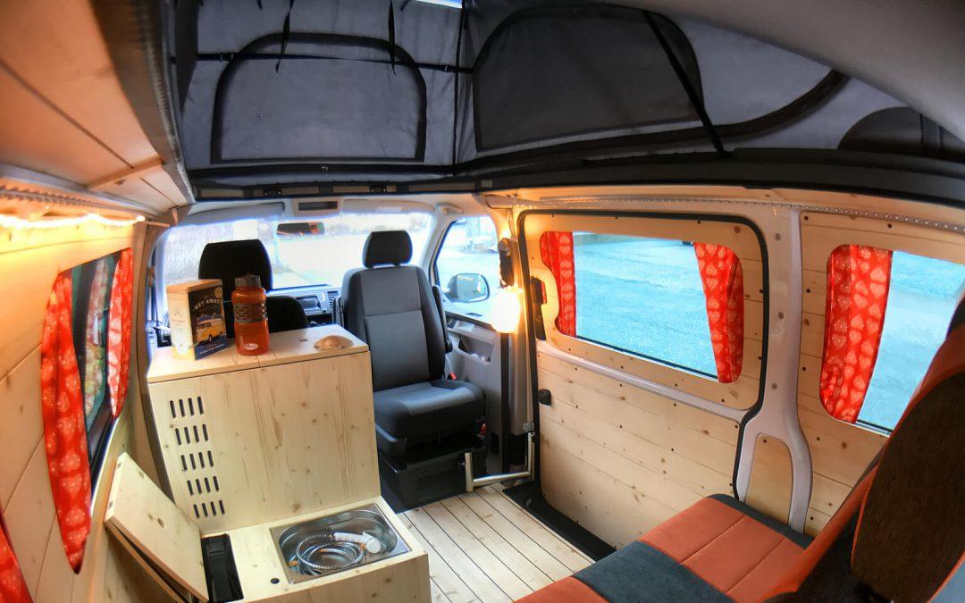 Campervans für Fünf!