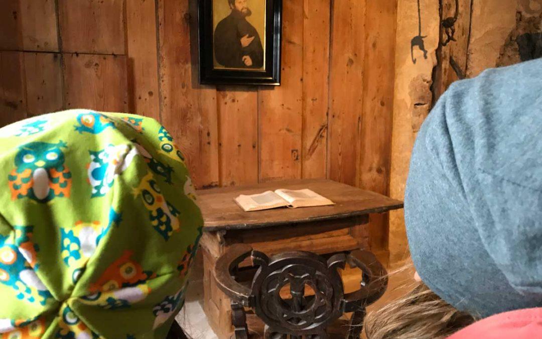 Luther erleben – mit Kindern auf der Wartburg