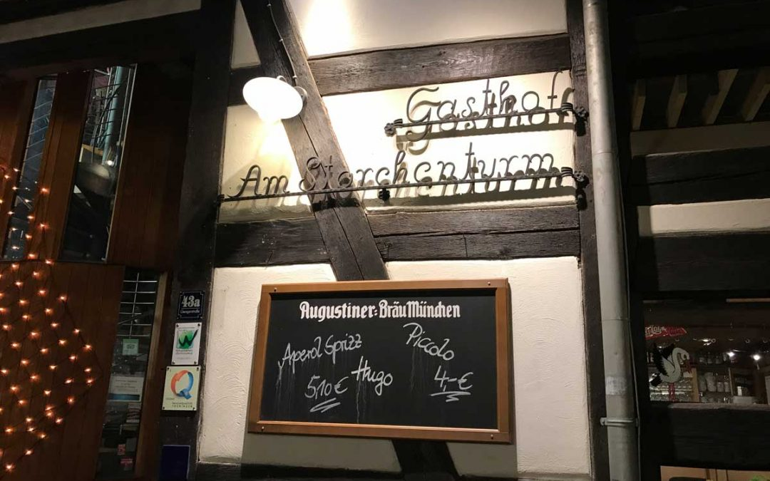 Eisenach und Weimar – Essen und Campen