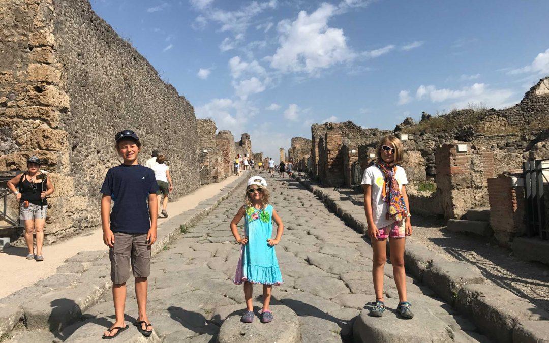 Pompeii – mit den Kindern auf Zeitreise