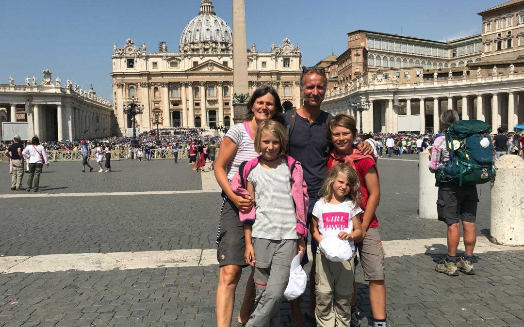 Fünf Stunden Rom mit Kindern