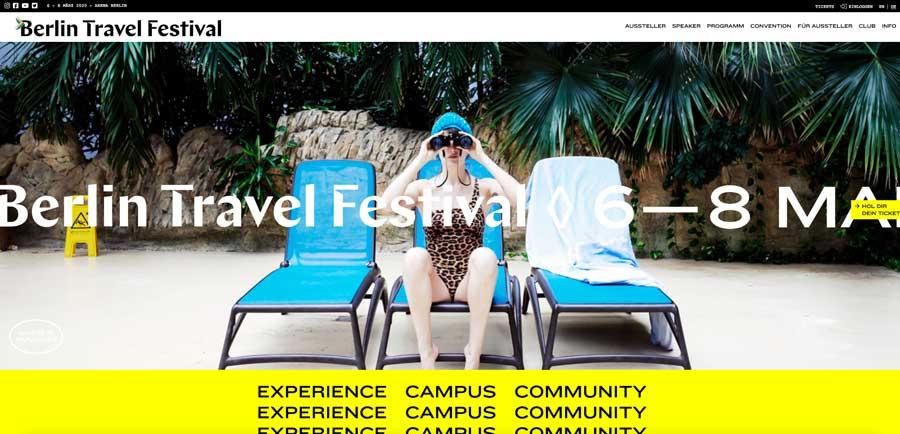 Tickets für Berlin Travel Festival zu verlosen